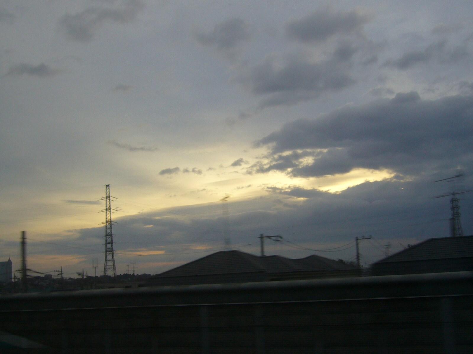 今朝の空@海老名付近