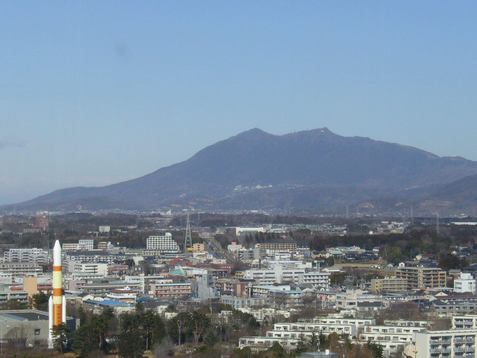 三井ビルなう。筑波山がよく見えるなり。