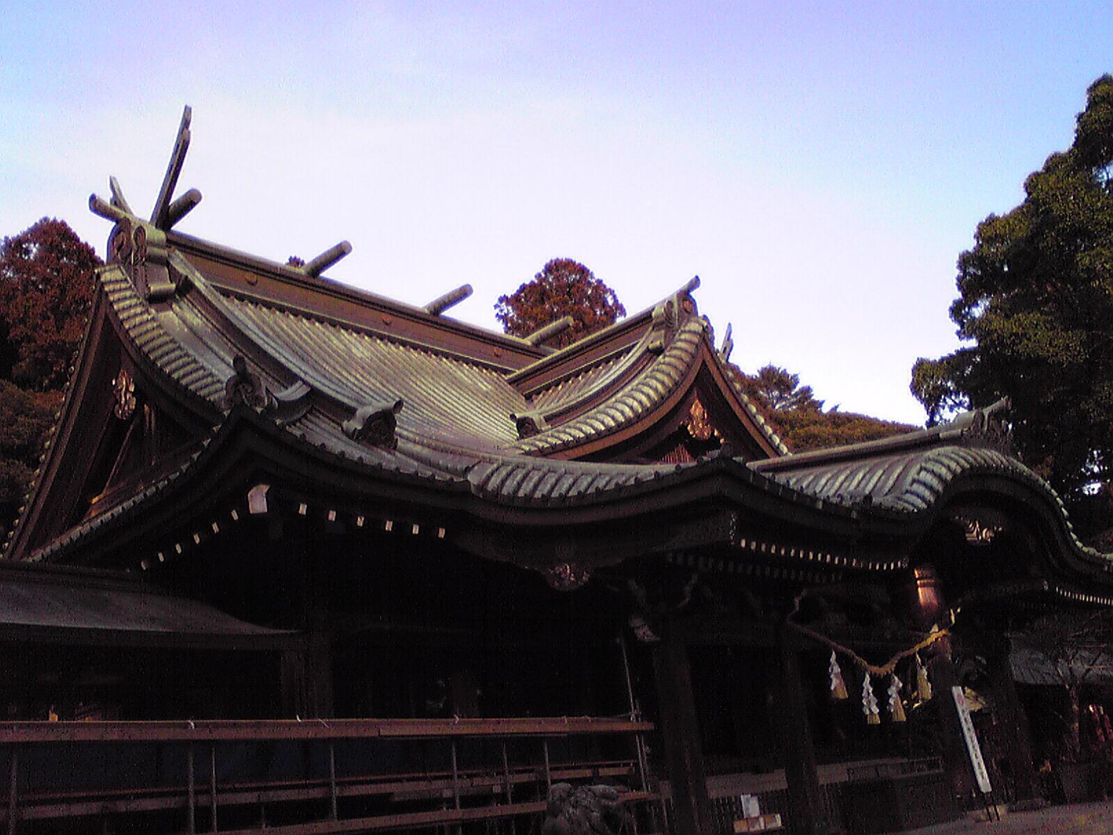 筑波山神社なう